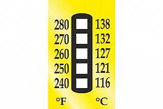 מדבקות טמפרטורה